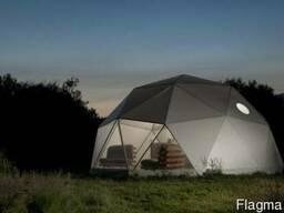 Роскошные шатры на 6 гостей для кемпинга класса люкс - фото 2