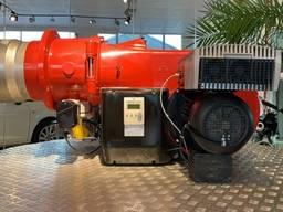Gas burner Weishaupt που κατασκευάστηκε στη Γερμανία.