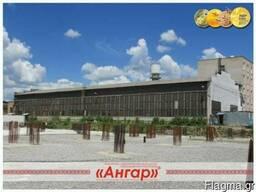 Hangar 18x78 για αποθήκη, παραγωγή