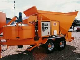 Мобильный бетонный завод Sumab B-15-1200 (20 м3/ч) Швеция