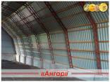 Полукруглые быстровозводимые ангары /склады/модульные здания - фото 4
