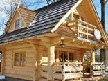 Построим красивый дом из дерева. Из привезенной ели. - photo 1