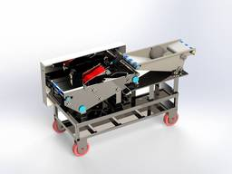 Product coating machine (liquid coating