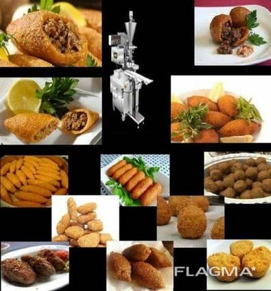 Stuffed meatballs machıne (Turkey)