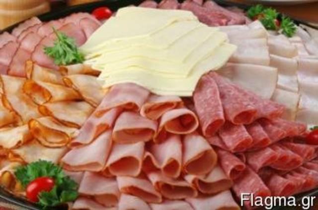 Turkey, ham, salami, bacon