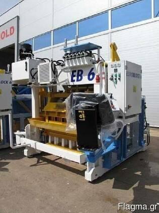 Блок-машина Мобильный для производства бордюров, блоков Е1