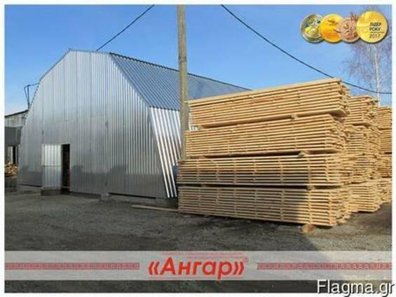 Υπόστεγα για ξυλουργική βιομηχανία
